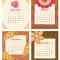 2021 Flora Fauna Desk Calendar: September - December