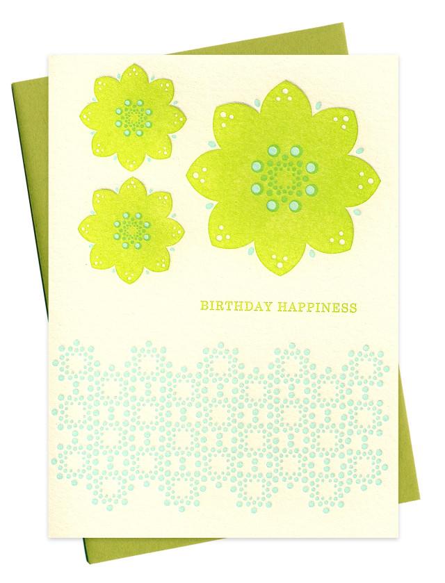 green danish flowers