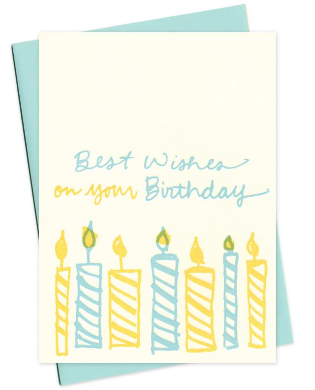 birthday candles • blue