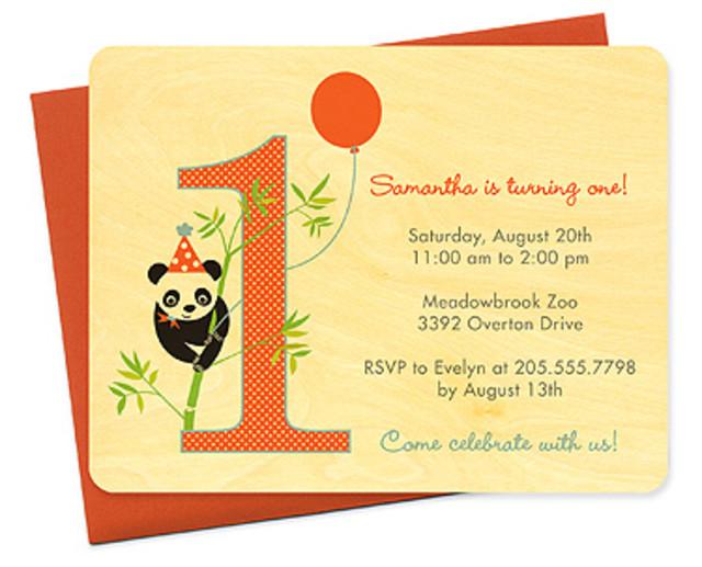 party panda 1st birthday