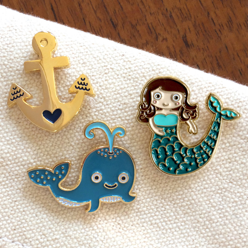 Nautical Pin Pals Gift Set