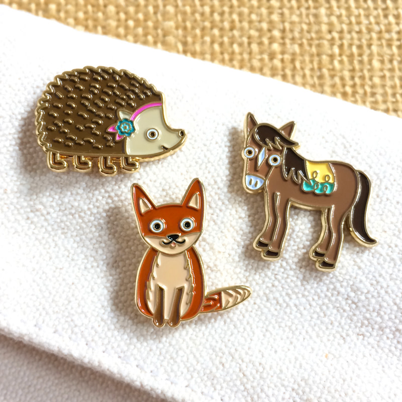 Cute Critters Pin Pals Gift Set