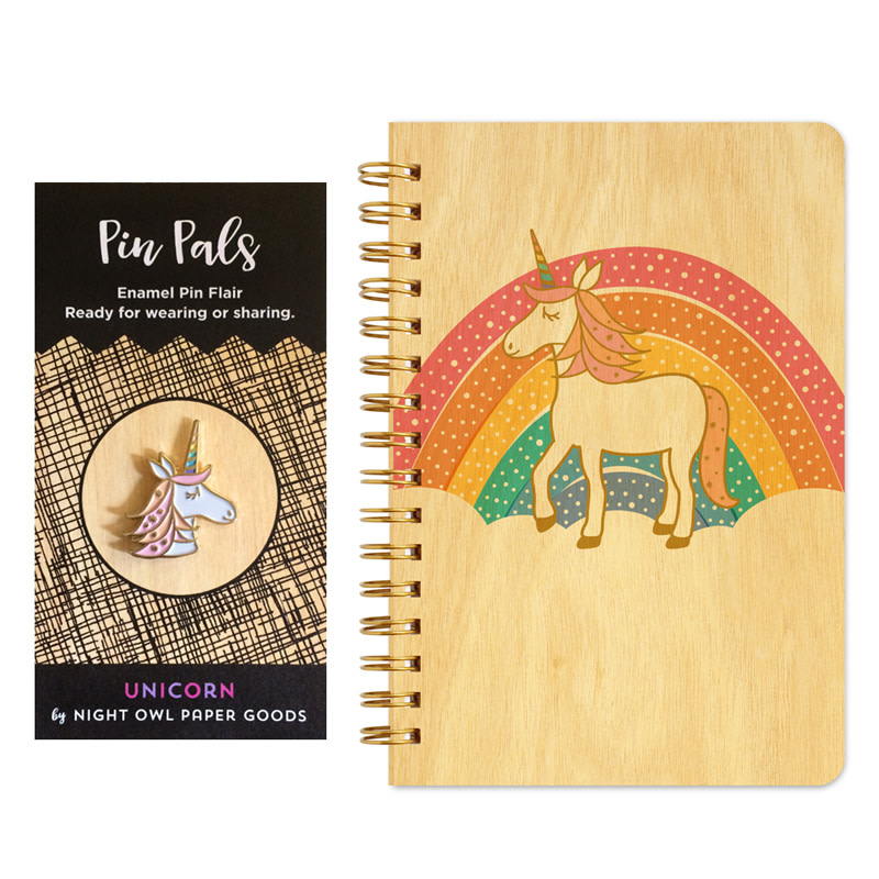 Prancing Unicorn Gift Set