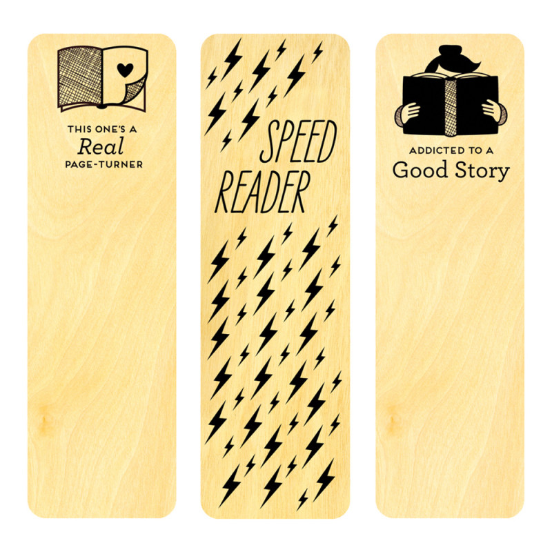 Avid Reader Bookmark Set