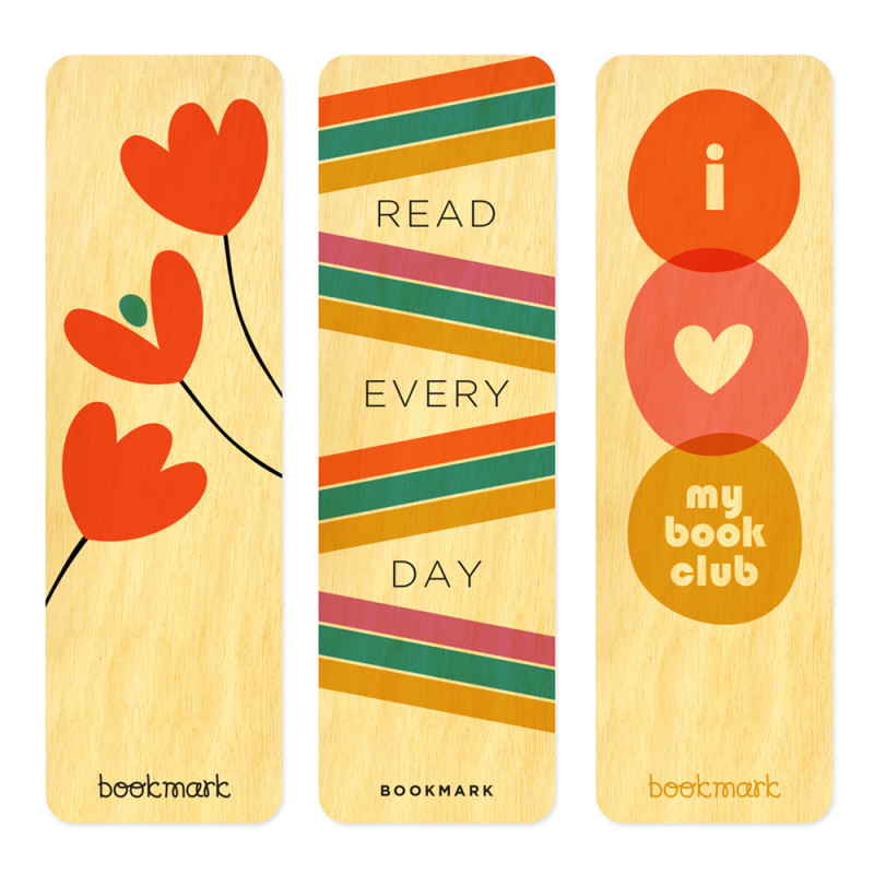 Read Every Day Bookmark Set