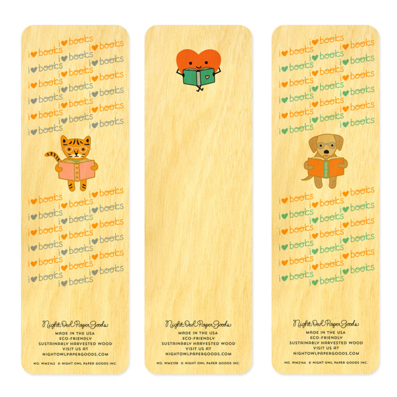 Happy About Reading Bookmark Set