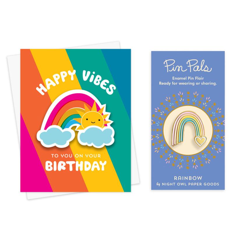 Rainbow Vibes Birthday