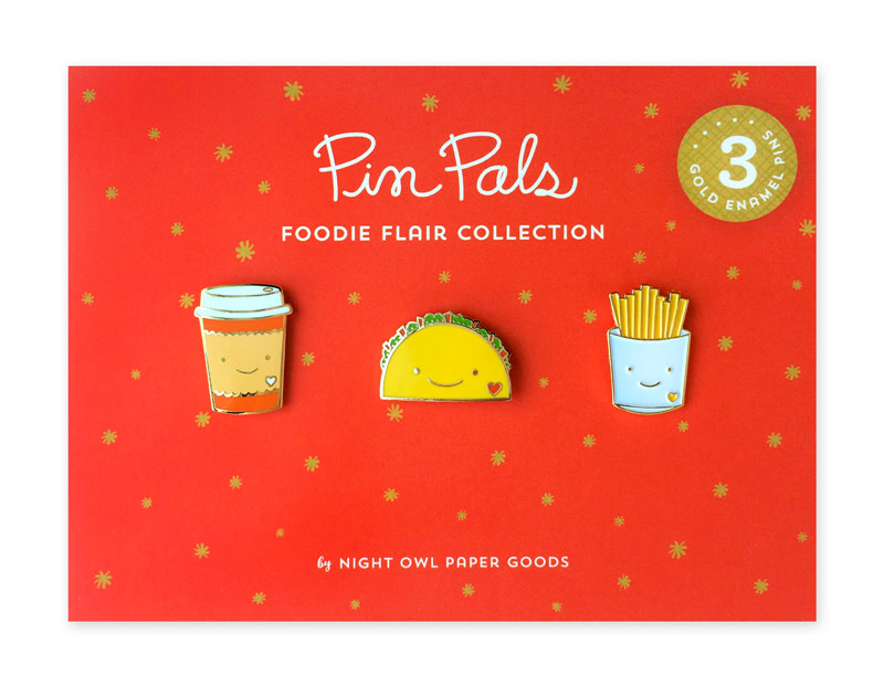 Foodie Flair Pin Pals Gift Set (Original)