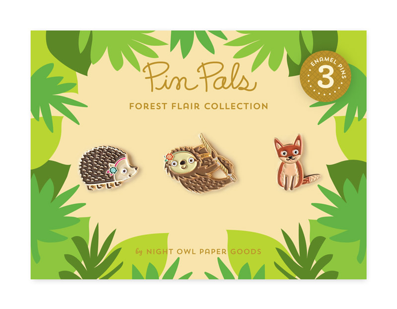 Forest Flair Pin Pals Gift Set