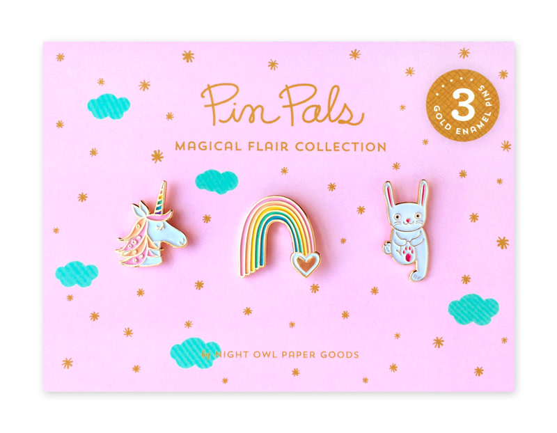 Magical Flair Pin Pals Gift Set