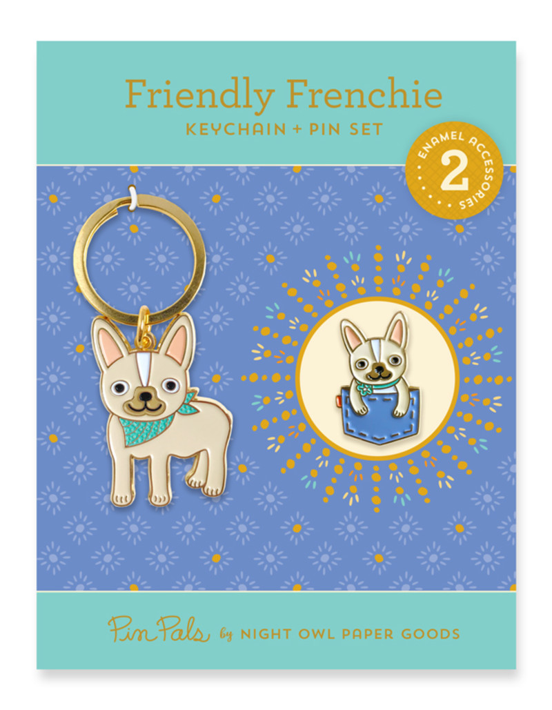 Friendly Frenchie Gift Set