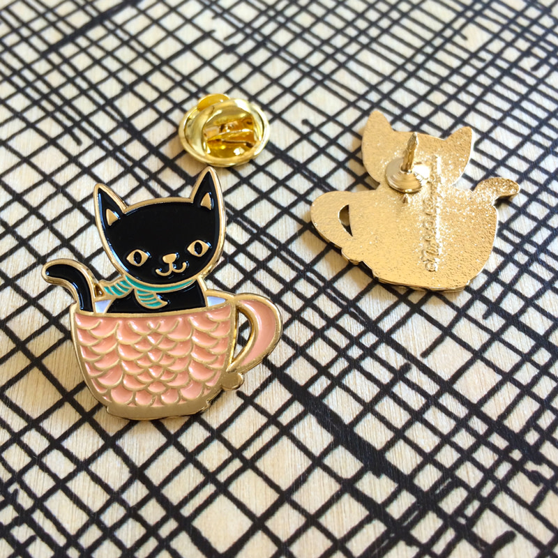 Cat Lover Pin Pals Gift Set