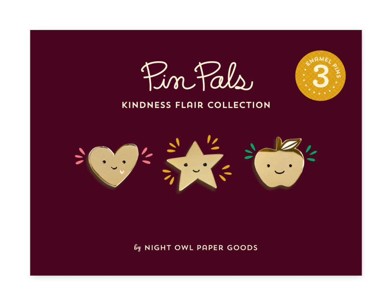 Kindness Flair Pin Pals Gift Set
