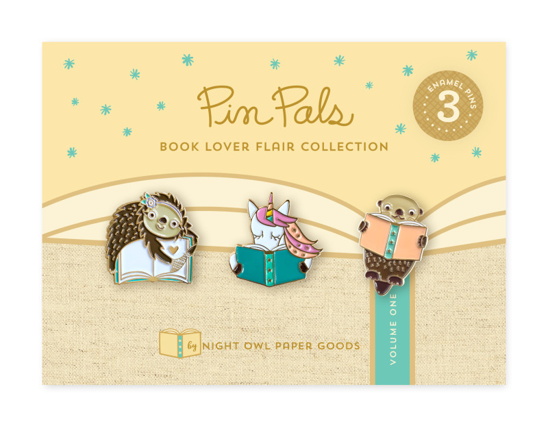 Book Lover Flair - Volume 1 Pin Pals Gift Set