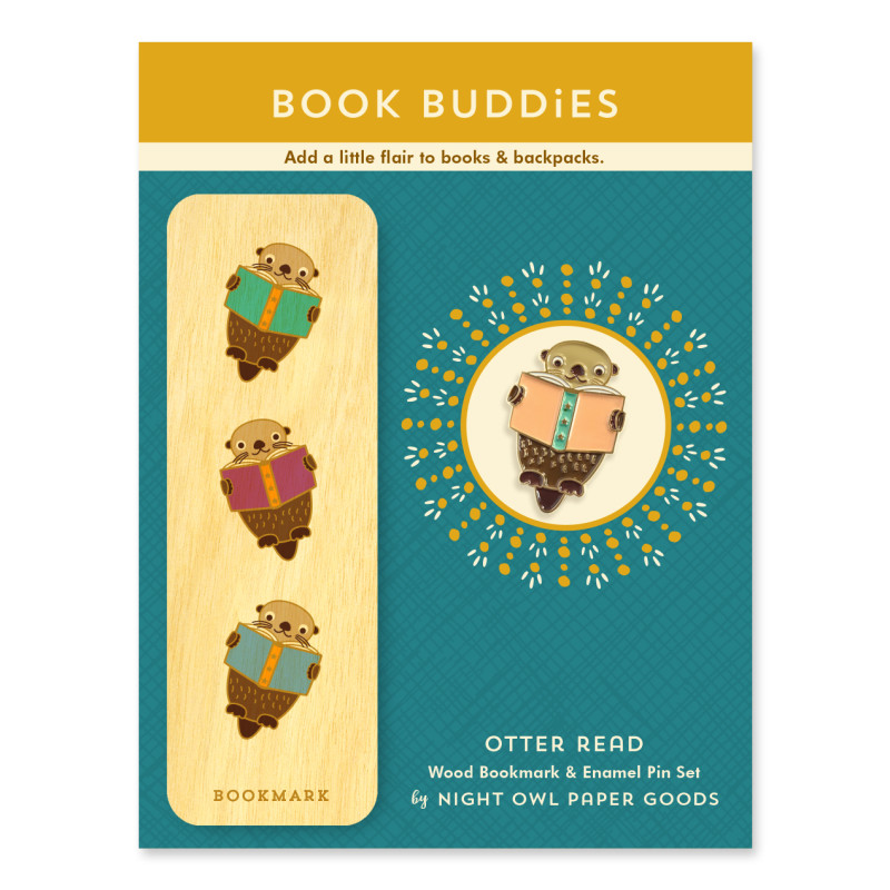 Otter Read Book Buddies