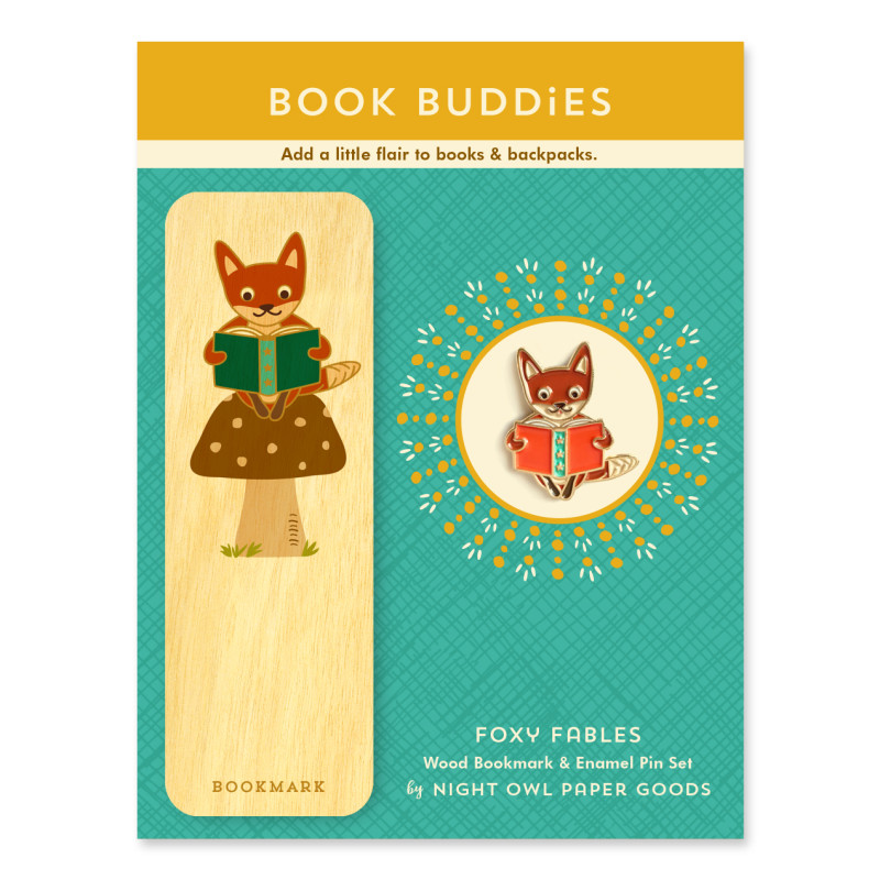 Foxy Fables Book Buddies