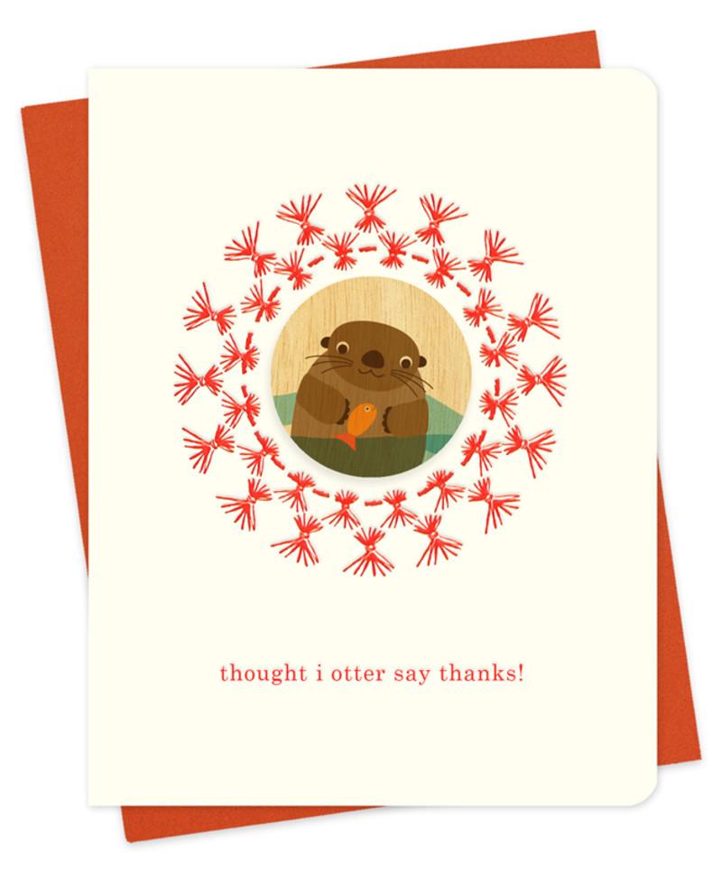 Straw Otter