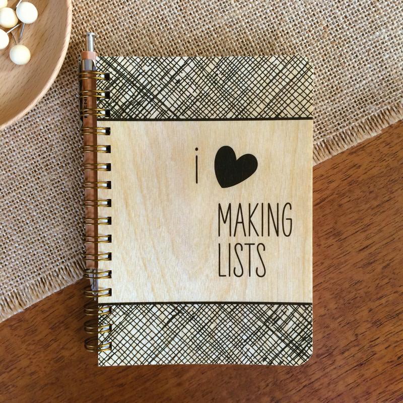 Making Lists • Pocket Notebook