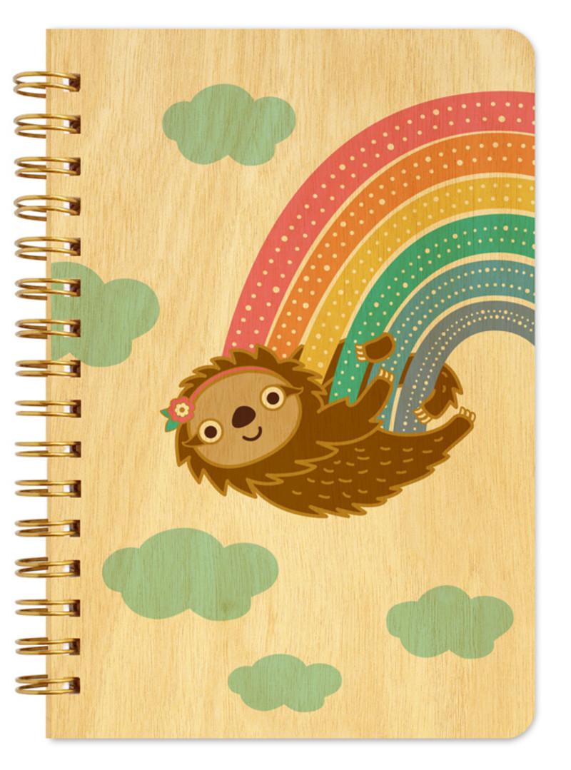 Rainbow Sloth • Pocket Notebook