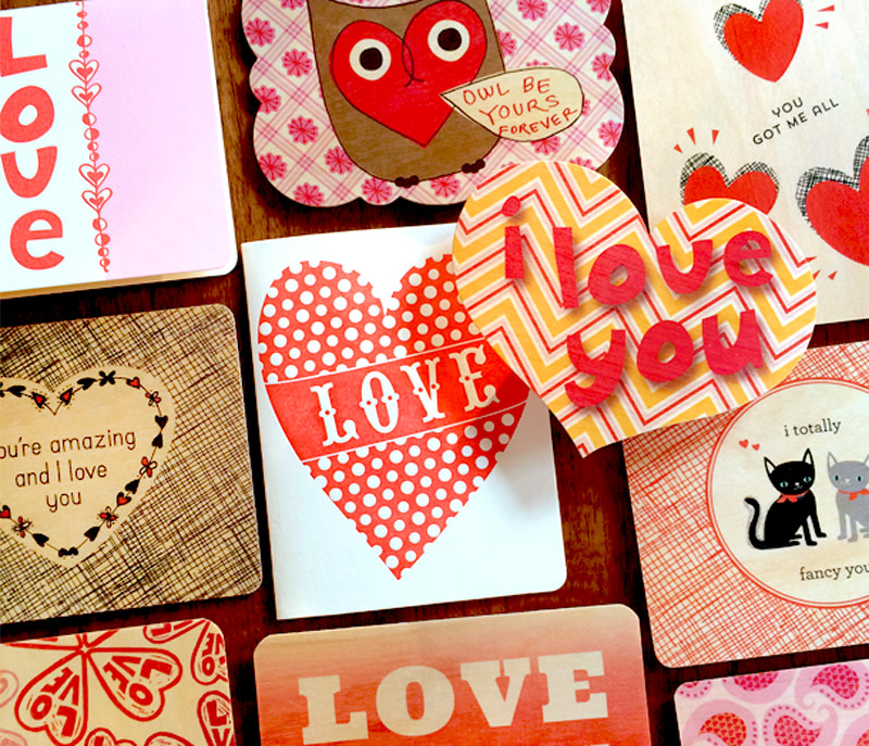 5 Love Cards for $10 – Sweetheart Surprise Set