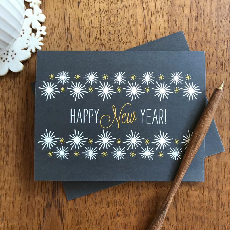 Golden New Year - Box of 10