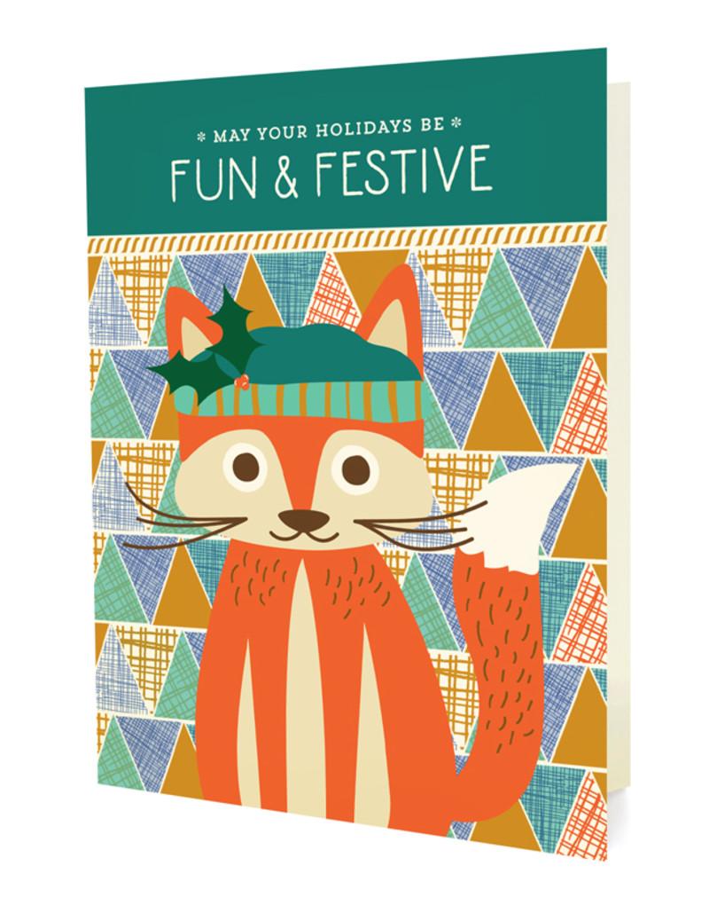 Festive Fox - Box of 10