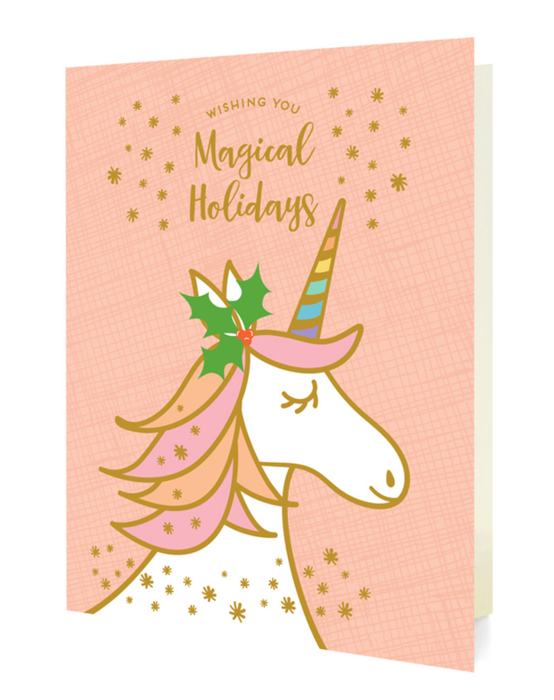 Magical Unicorn - Pink - Box of 10