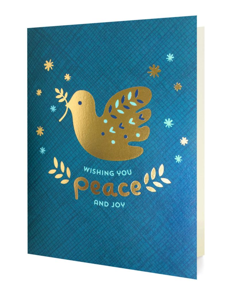 Gold Foil Dove
