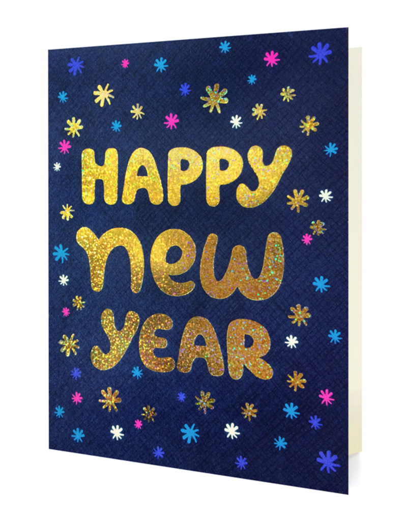 Shimmery New Year - Box of 8