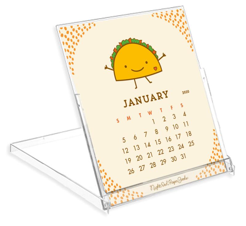 Birmingham Nightlife Calendar December 2020 2020 Fun Food Desk Calendar ‹ 2020 Calendars ‹ Gifts « Night Owl