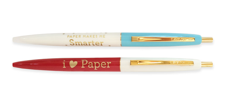 Paper Makes Me Smarter + Love Paper