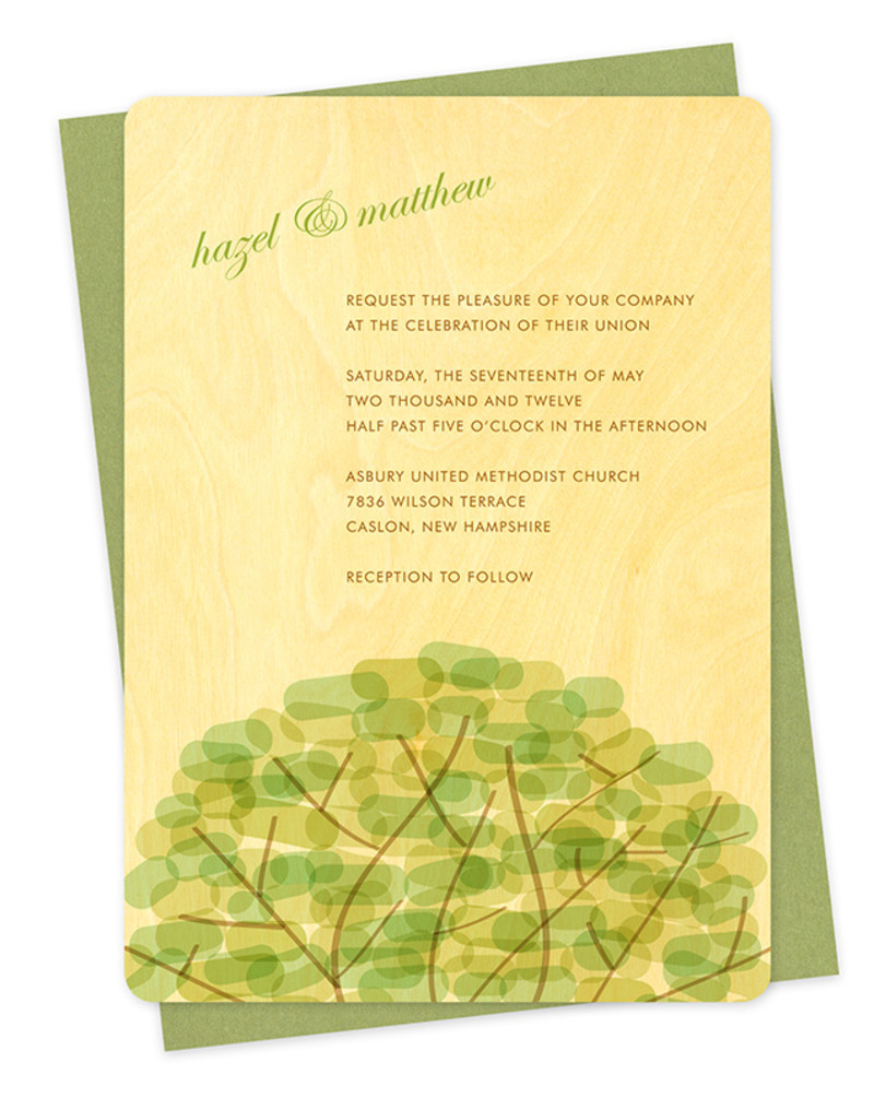 Treetop Invitation