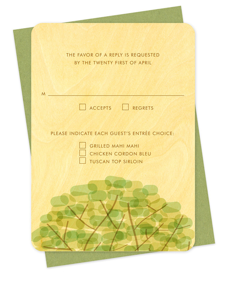 Treetop Reply Card