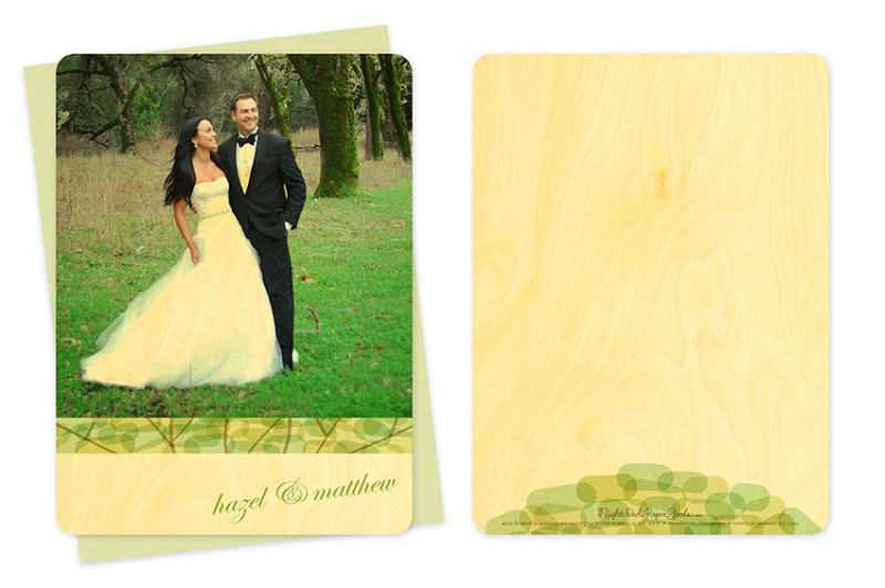 Treetop Photo Thank You Card