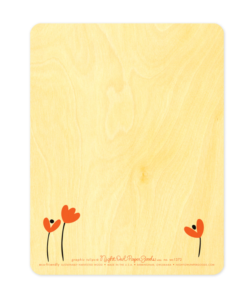 Graphic Tulips