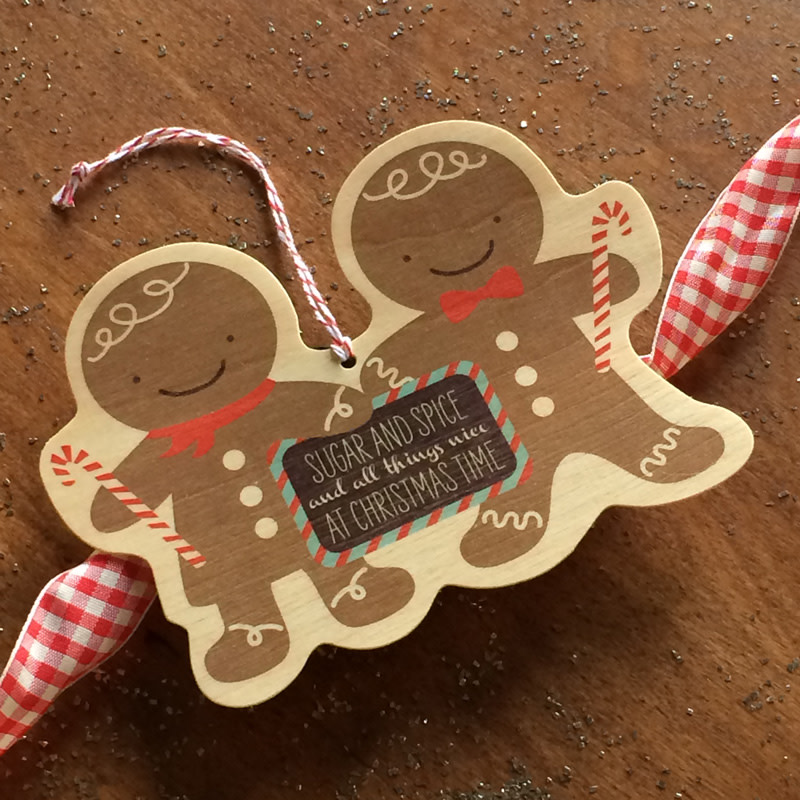 Gingerbreads Ornament