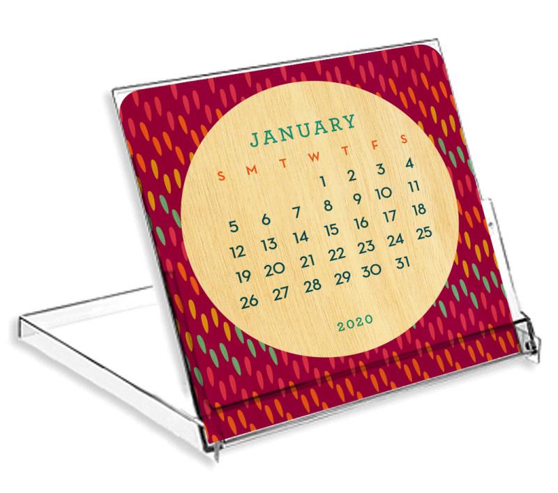 2020 Big Dot Mini Calendar