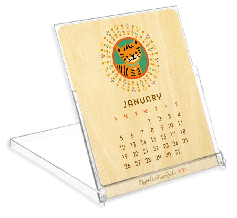 2020 Critter Desk Calendar