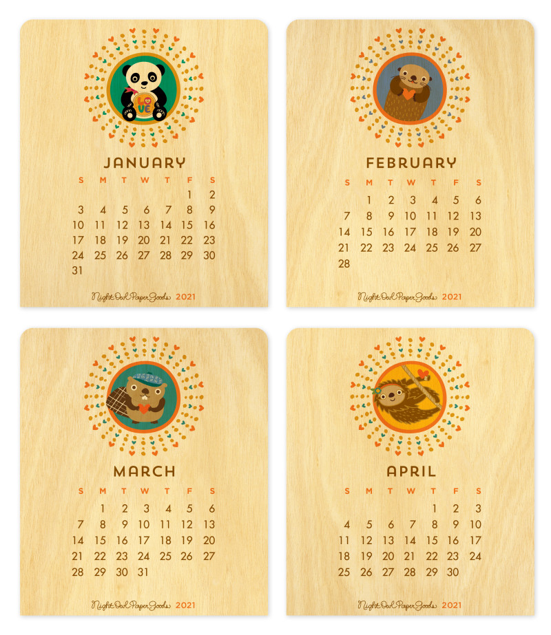 January - April