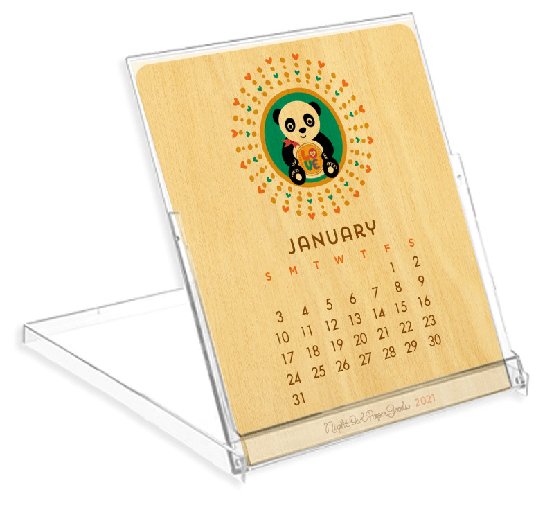 Calendar with Stand