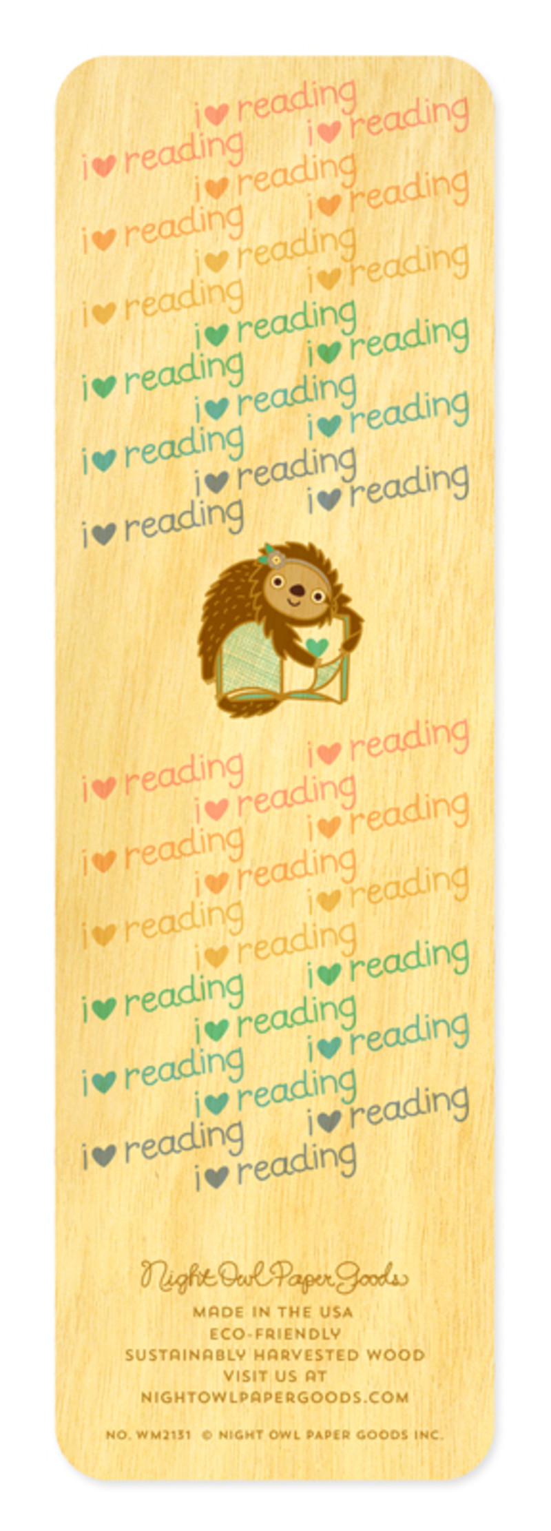 Rainbow Sloth • Bookmark