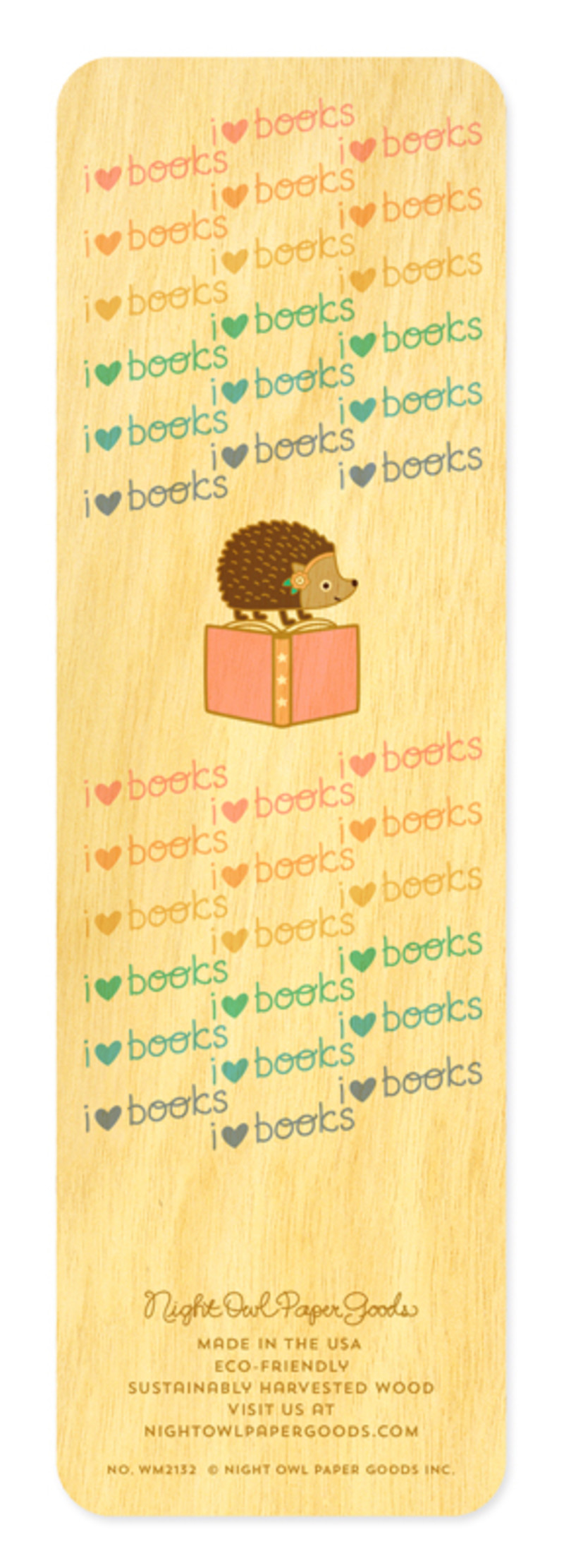 Marching Hedgehogs • Bookmark
