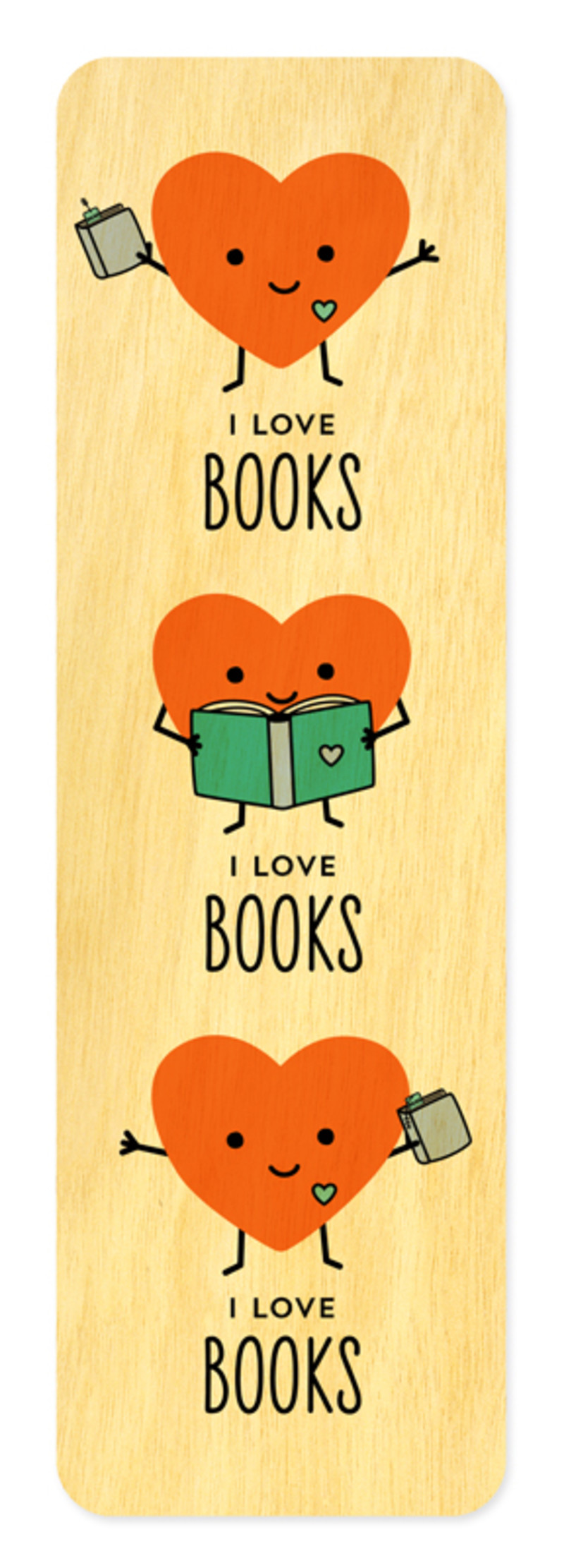 Happy Hearts • Bookmark