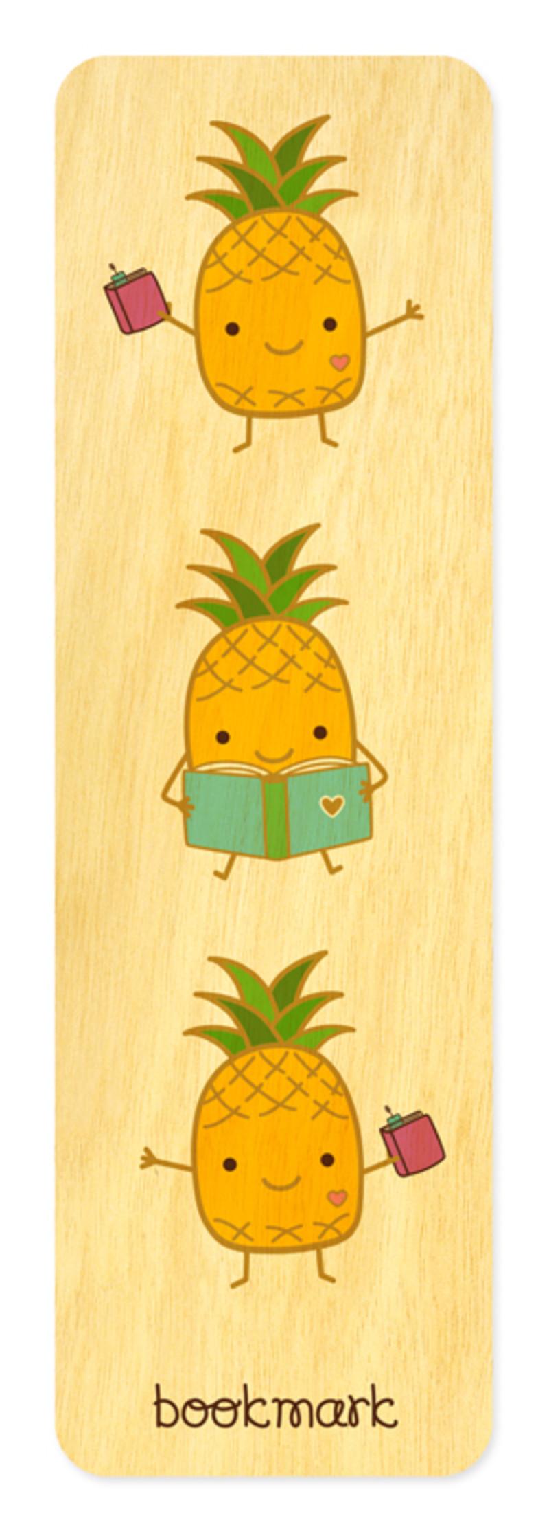Poetry Pineapple • Bookmark