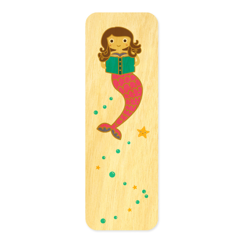 Mermaid Tales • Mini Bookmark