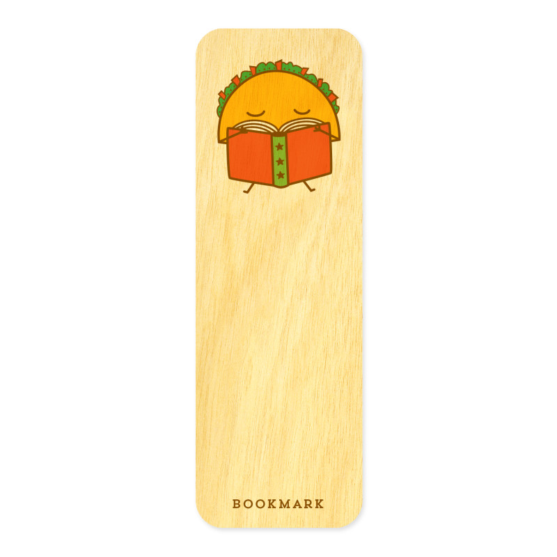 Taco Tales • Mini Bookmark