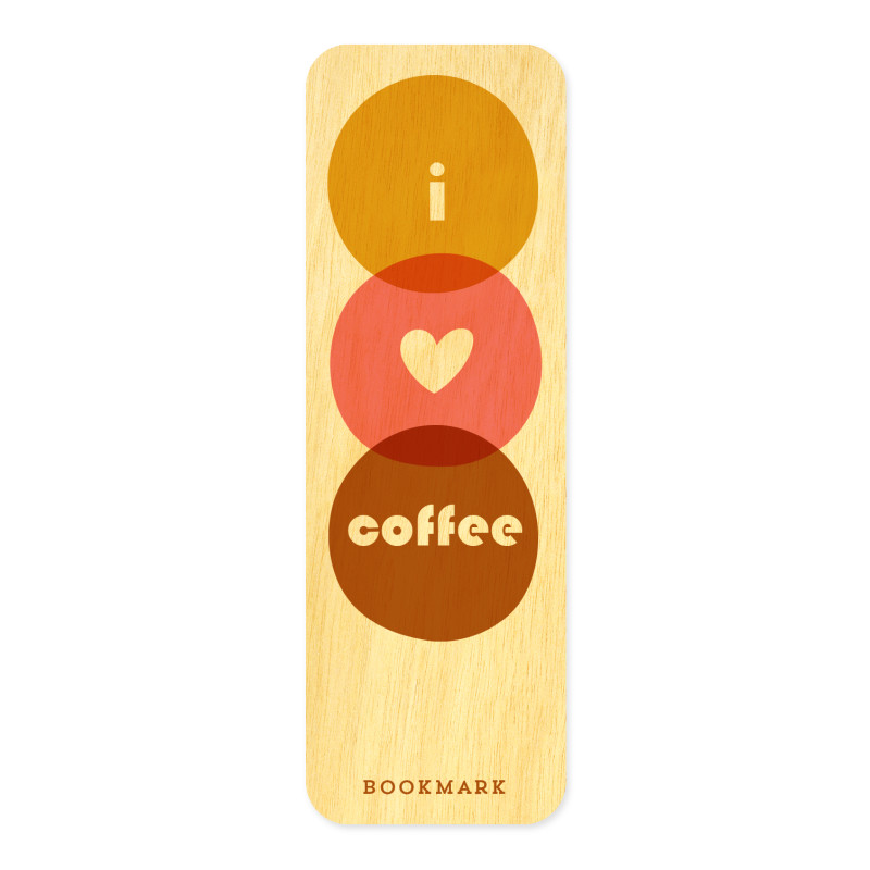 Coffee Mates • Mini Bookmark