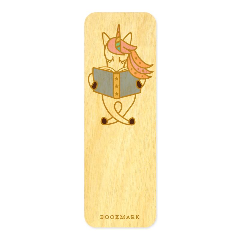 Reading Unicorn • Mini Bookmark
