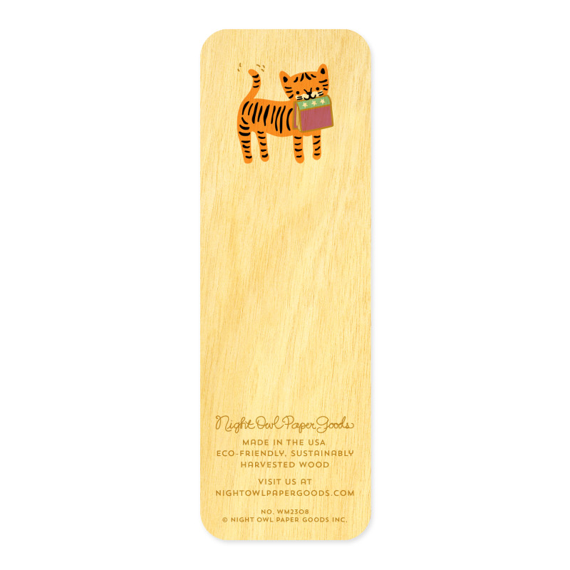 Tiger Tales • Mini Bookmark