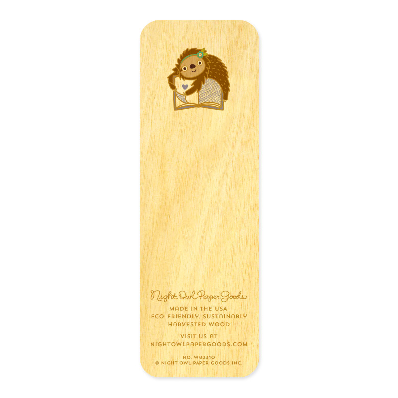 Book Sloth • Mini Bookmark
